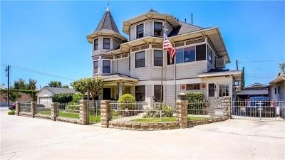 Glendora Multi Family Home For Sale: 725 W Baseline Road