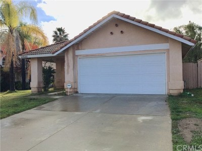 Moreno Valley Single Family Home For Sale: 10237 Via Pavon
