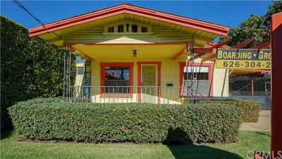Pasadena Single Family Home For Sale: 219 N Sierra Madre Boulevard