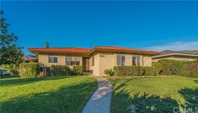 Glendora Single Family Home For Sale: 1145 E Cypress Avenue