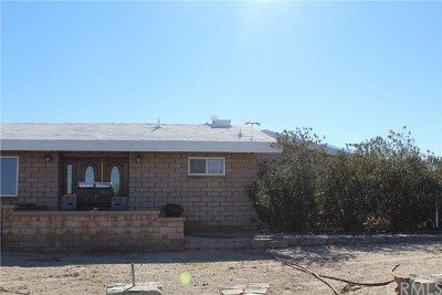Llano Single Family Home For Sale: 20558 Fort Tejon Road