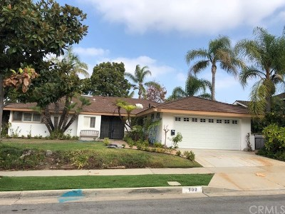Orange County Rental For Rent: 900 Chestnut Place
