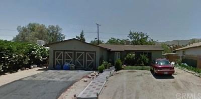 Joshua Tree Single Family Home For Sale: 61591 La Jolla Drive
