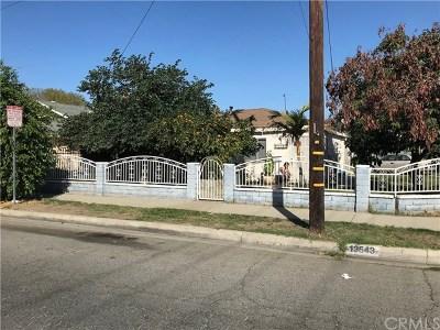 Baldwin Park Single Family Home For Sale: 13543 Palm Avenue