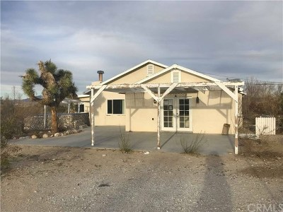 Lucerne Valley Single Family Home For Sale: 36166 Sutter Road