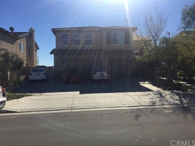 Perris Single Family Home For Sale: 1553 Palermo