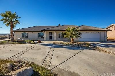 Hesperia Single Family Home For Sale: 17363 Manzanita Street