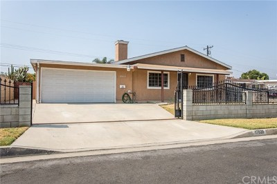 Covina Single Family Home For Sale: 17028 E Devanah Street