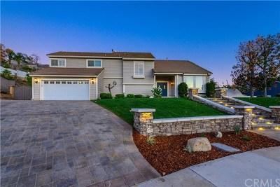 La Verne Single Family Home For Sale: 7450 Alta Vista