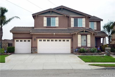 Fontana Single Family Home For Sale: 5240 Starling Street