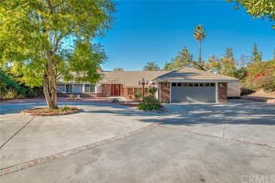 Riverside, Temecula Single Family Home For Sale: 6901 Sandtrack Road