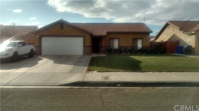 Adelanto Single Family Home For Sale: 10731 Villa Street