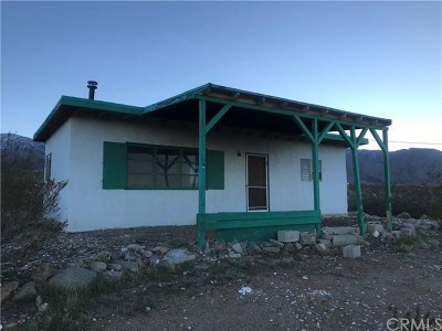 Lucerne Valley Single Family Home For Sale: 31077 Azurite Road