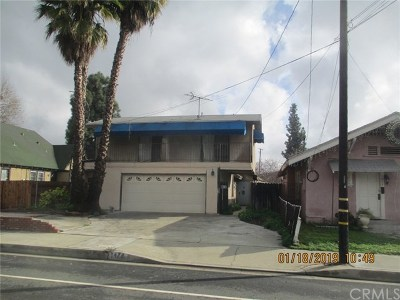 Pomona Single Family Home For Sale: 1478 N Park Avenue