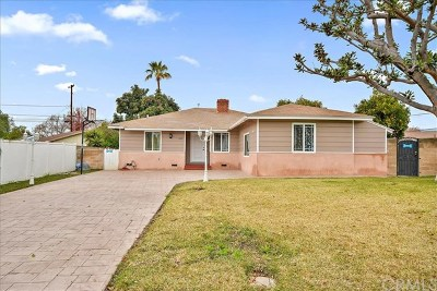 Pomona Single Family Home For Sale: 605 Fellows Place