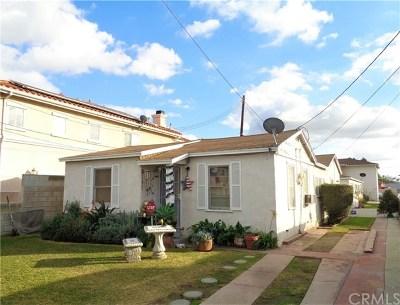 El Monte Multi Family Home For Sale: 10326 Bodger Street