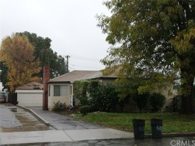 Temple City Single Family Home For Sale: 6012 Camellia Avenue