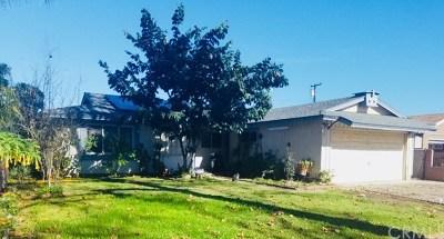 La Puente Single Family Home For Sale: 13915 Cagliero Street
