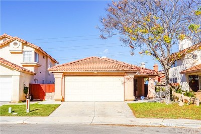 Fontana Single Family Home For Sale: 16062 Orange Blossom Circle