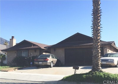 Highland Single Family Home For Sale: 7535 Peacock Avenue