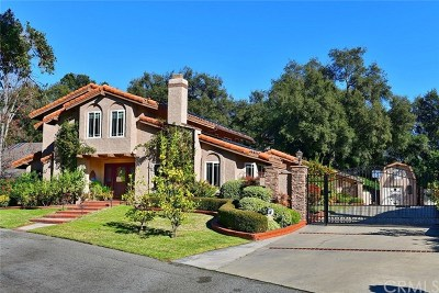 La Verne Single Family Home For Sale: 7158 Melinda Lane