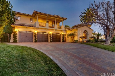Upland Single Family Home For Sale: 2505 Mesa Terrace