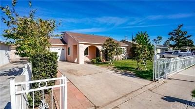 Santa Ana Single Family Home For Sale: 1523 W 12th Street