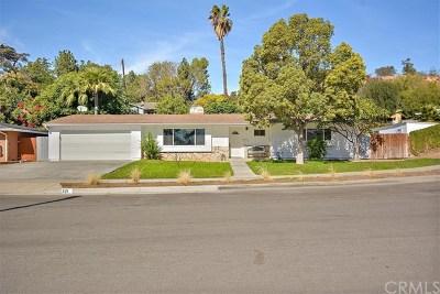 La Habra Rental For Rent: 321 Olinda Avenue