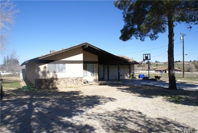 Apple Valley Single Family Home For Sale: 18420 Cocopah Road
