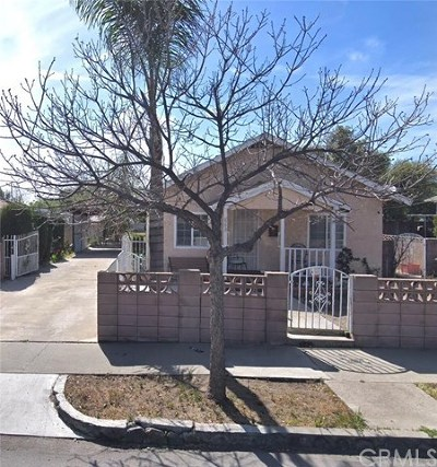 Upland Single Family Home For Sale: 863 5th Avenue