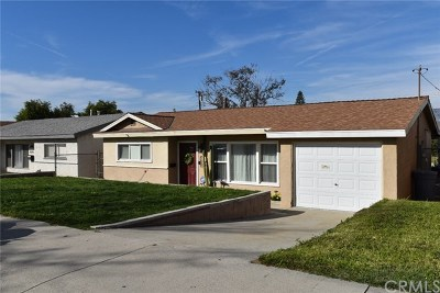 Covina Single Family Home For Sale: 1045 E Badillo Street