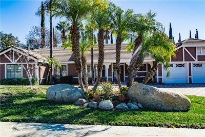 Upland Single Family Home For Sale: 2468 Highland Road