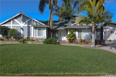 Covina Single Family Home Active Under Contract: 3641 N Bender Avenue