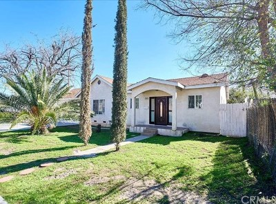 Corona Single Family Home For Sale: 944 Park Lane