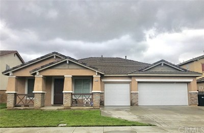 Eastvale Single Family Home Active Under Contract: 12545 Current Drive