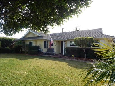 Covina Single Family Home For Sale: 1324 E Wingate Street