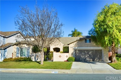 Murrieta Single Family Home For Sale: 38884 Cherry Point Lane
