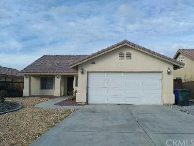 Adelanto Single Family Home For Sale: 10336 Mendicino Road