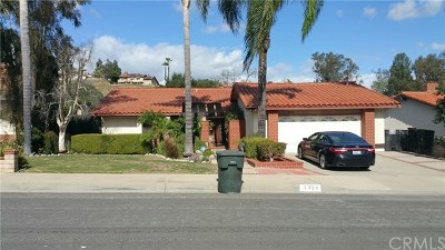 Chino Hills Single Family Home For Sale: 2326 Turquoise Circle