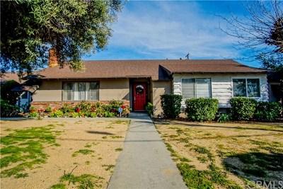 Pomona Single Family Home For Sale: 2286 N Orange Grove Avenue