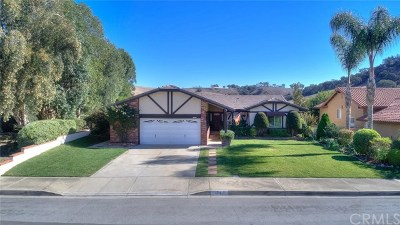 Chino Hills Single Family Home For Sale: 15471 Feldspar Drive
