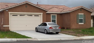 Perris Single Family Home For Sale: 3470 Bryce Canyon Way