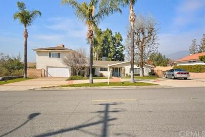 Alta Loma CA Single Family Home For Sale: $850,000