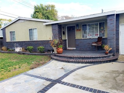 Pomona Single Family Home For Sale: 1736 Fellows Place