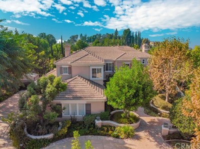 Fullerton Single Family Home For Sale: 2340 Skyline Drive