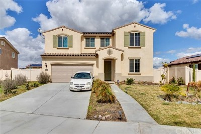 Perris Single Family Home For Sale: 1064 Anza Court
