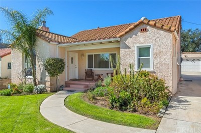 Pasadena Single Family Home For Sale: 1413 Valencia Avenue