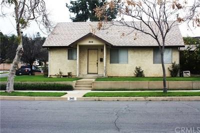 San Dimas Single Family Home For Sale: 345 W 3rd Street