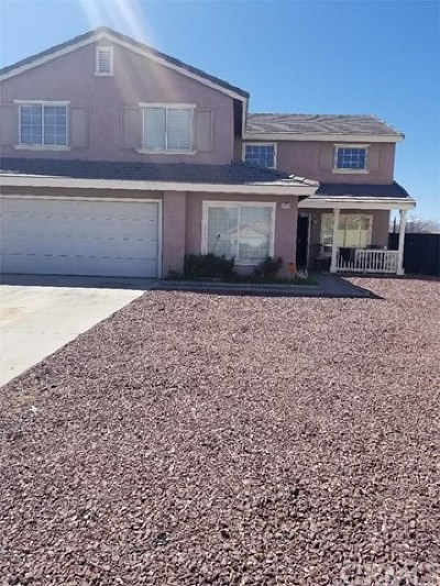 Adelanto Single Family Home For Sale: 11477 Palisades Court