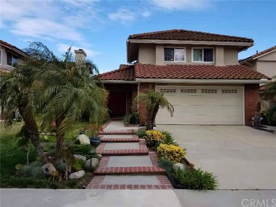 Chino Hills Single Family Home For Sale: 17637 Dandelion Lane